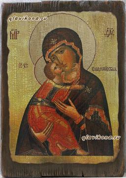 Владимирская - икона под старину
