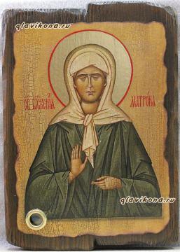 Матрона - икона под старину
