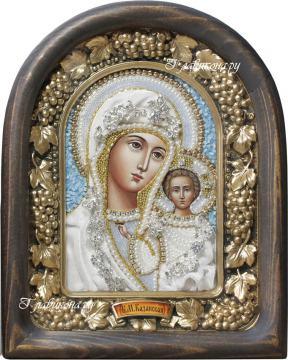 Казанская - икона дивеевская в бврхате
