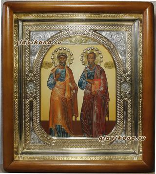 Петр и Павел икона в киоте