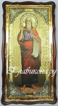 пророк илья икона размер 61х112см
