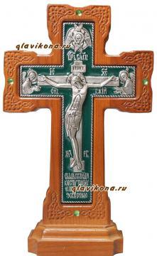 крест светлый с эмалью