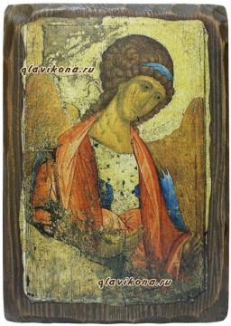 Архангел Михаил, икона Андрея Рублева