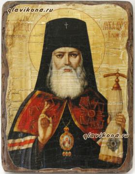 Лука Крымский, икона состаренная