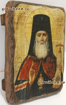 Лука Крымский, икона искусственно состаренная