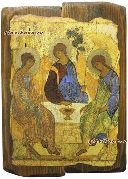Троица икона под старину