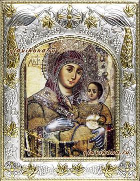 Вифлеемская Божия Матерь, икона в ризе