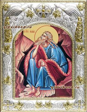 Илия пророк, икона в ризе, артикул 41424