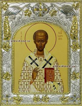 Иоанн Златоуст, икона в ризе, артикул 41028