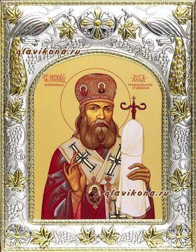 Лука Крымский, икона в ризе, артикул 41539