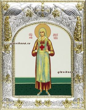Аполлинария Тупицына, икона в ризе артикул 41067