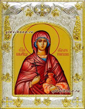 Анастасия Узорешительнца, икона в ризе артикул 41511