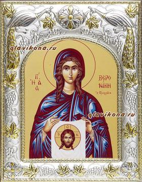 Праведная Вероника, икона в ризе артикул 41842