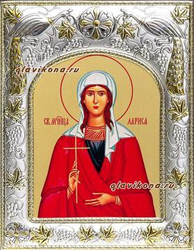 Лариса Готфская, икона в ризе артикул 41929