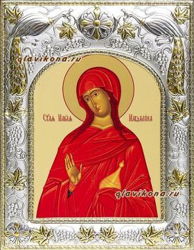 Мария Магдалина, икона в ризе артикул 41419