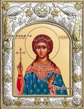 Надежда Римская, икона в ризе артикул 41562