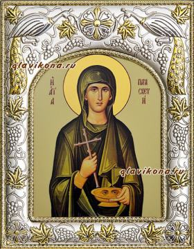 Параскева Римская, икона в ризе артикул 41920