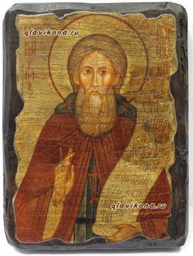 Сергий Радонежский, икона под старину