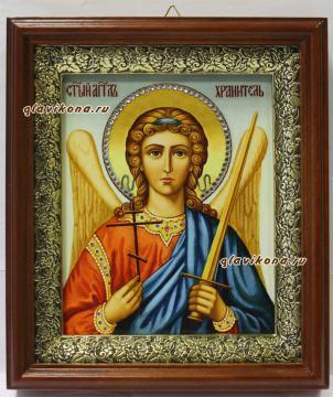 Ангел Хранитель (живописный), икона на холсте в широком киоте