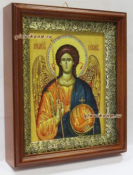Архангел Михаил, икона в киоте, артикул 60559