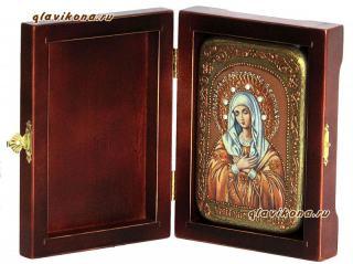 Умиление Божия Матерь икона подарочная 10х15 см