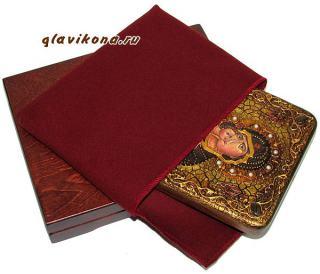 Владимирская Божия Матерь (византийский стиль) икона подарочная 15х20 см