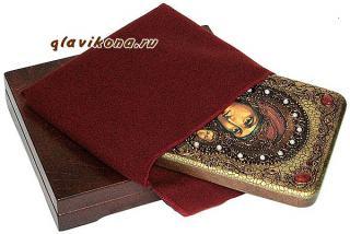 Казанская Божия Матерь (живописный стиль) икона подарочная 15х20 см