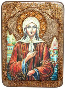икона Ксении Петербургсокй под старину