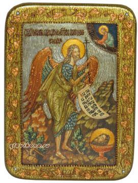 Иоанн Предтеча икона под старину