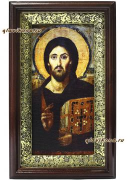 Спас Синайский, икона в киоте