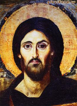 лик Образа Святого - детали