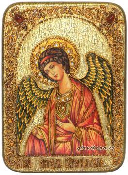 Ангел Хранитель, икона ручного производства