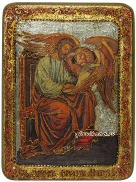 Апостол Марк, подарочная икона под старину