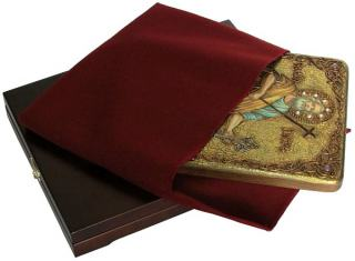 Апостол Петр - вид иконы с подарочной упаковкой