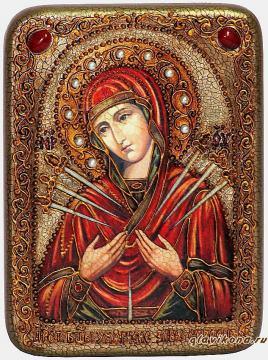 Умягчение злых сердец - икона подарочная
