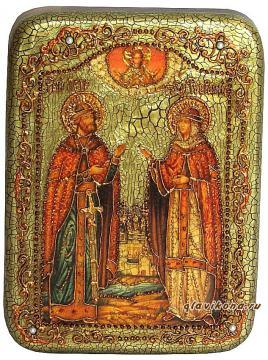Петр и Феврония - подарочная икона