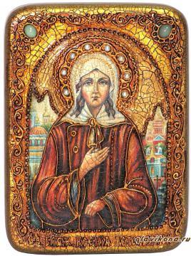 Ксения Петербургская - подарочная икона