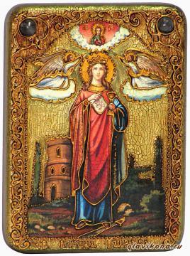 Варвара Илиопольская - подарочная икона