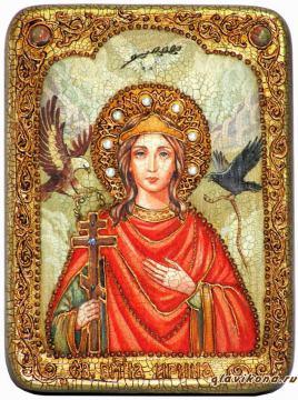 Ирина Македонская - подарочная икона