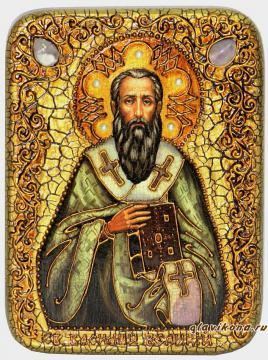 Василий Великий - икоан подарочная