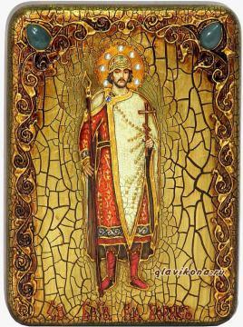 князь Борис - икона подарочная