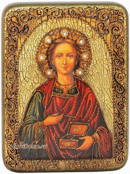 Целитель Пантелеймон- подарочная икона