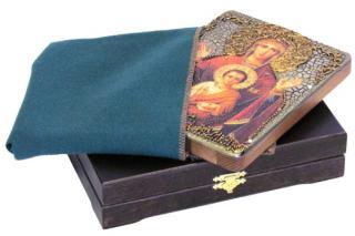 """Божия Матерь """"Знамение"""" икона подарочная 15х20 см"""