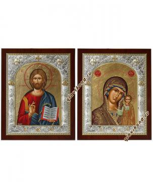 Венчальная пара икон из Греции