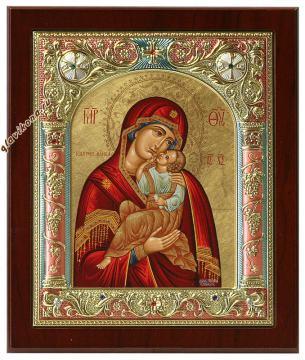 Взыграние младенца, греческая икона