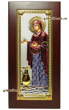 Икона Геронтиссы в цветной эмале