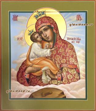 Рукописная икона Почаевская, артикул 285