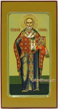 Ростовая икона Николая Чудотворца артикул 6102
