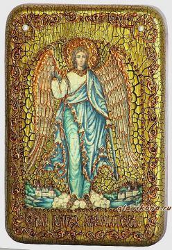 Ангел Хранитель (ростовой) икона подарочная 10х15 см