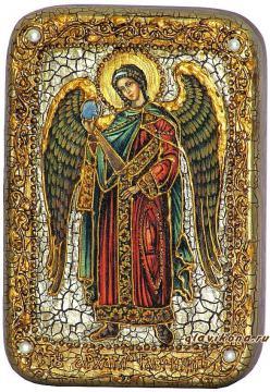 Гавриил Архангел икона подарочная 10х15 см